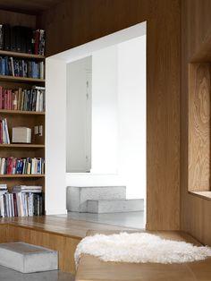 vienna berg architects// Concrete steps