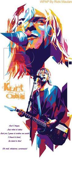 WPAP Kurt Cobain By Rizki Maulana