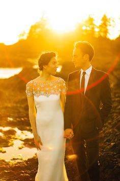 A Marchesa Gown for a Minimalist and Intimate Wedding in the Woods | Love My Dress® UK Wedding Blog