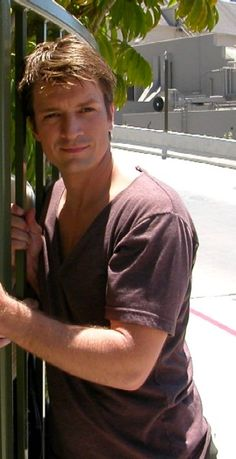 Nathan Fillion  I couldn't figure out why I was SO attracted to him. Like more than normal then I remembered an old crush he resembles!
