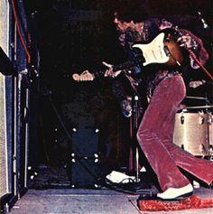 #jimihendrix Jimi Hendrix Tearing up the amps!