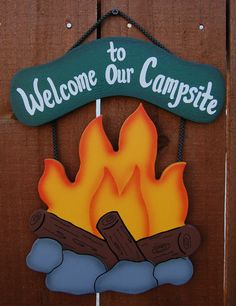 Welcome - Campsite Sign