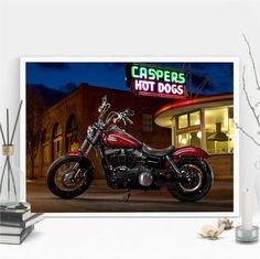 poster moto 16 - 30x40cm