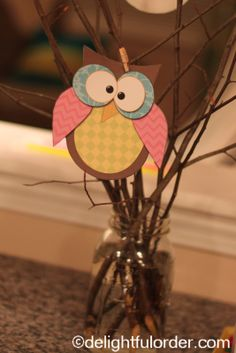 Delightful Order: Owl Birthday Party Ideas