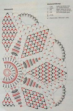 Kira scheme crochet: Scheme crochet no. Crochet Doily Rug, Free Crochet Doily Patterns, Crochet Doily Diagram, Crochet Dollies, Crochet Circles, Crochet Tablecloth, Crochet Chart, Crochet Home, Thread Crochet