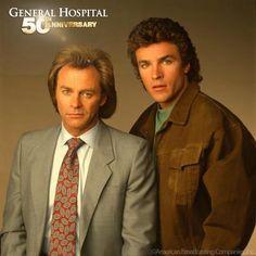 Brothers Robert & Mac Scorpio (Tristan Rogers & John J York) #GH50