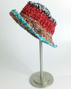 Suede Circles Hat Free Crochet Pattern