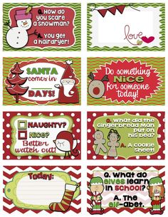 Adorable Elf on the Shelf printable jokes! #elfontheshelf