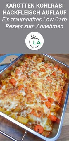 Low carb kohlrabi carrot minced meat casserole – delicious recipe – This minced meat casserole is quick, low carb and low in calories. Here you will find the delicious – - Low carb kohlrabi carrot minced meat casserole - delicious recipe - This minced. Healthy Dinner Recipes For Weight Loss, Healthy Snacks, Meat Recipes, Low Carb Recipes, Healthy Recipes, Cooking Recipes, Feta, Minced Meat Recipe, Low Carb Casseroles