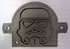 Star Wars - Storm Trooper Toast Press - 3D Printed Plastic #Handmade3DPrint