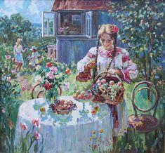Stanislav Fomenok - Sommer auf der Hütte