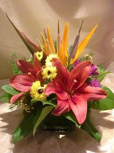 A flower arrangement called Target