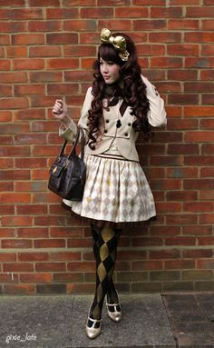 Classic lolita - I would wear this out though :3 I might change the tights a little.