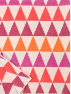 Think Pink with Lapuan Kankurit Harlekiini Red and White Throw at Heal's