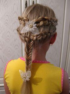Прически для девочек. Обсуждение на LiveInternet - Российский Сервис Онлайн-Дневников