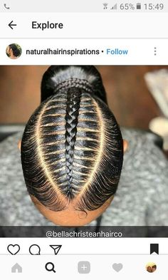 braids - African Hair Braiding (notitle) Beauty Haircut Home of Hairstyle Ideas & Inspiration, Hair Colours, & Haircuts Trends Weave Ponytail Hairstyles, Ponytail Styles, Sleek Ponytail, African Braids Hairstyles, Girl Hairstyles, Curly Hair Styles, Natural Hair Styles, Braid Hair, Hair Braiding Styles