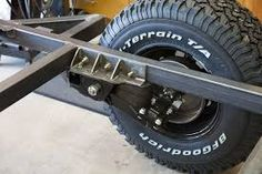 off road trailer suspension Off Road Camper Trailer, Trailer Build, Camper Caravan, Camper Trailers, Campers, Adventure Trailers, Best Trailers, Cargo Trailers, Utility Trailer