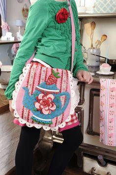 Shoulder bag Teapot