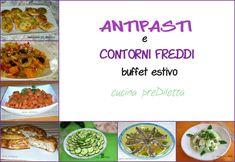 Ricette antipasti e contorni freddi, cucina preDiletta