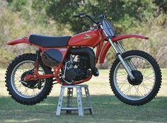 Never Started – 1976 Honda Elsinsore Youth Dirt Bikes, Mx Bikes, The Legend Of Heroes, Honda Motors, Japanese Motorcycle, Vintage Motocross, Honda Motorcycles, Honda Cr, Dirt Biking
