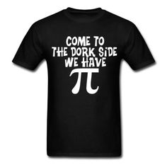 Spreadshirt Mens Dork Side Dark T-Shirt black L ...