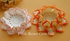 Centrinhos+Porta+Copos+Bicos+Orange+Crochet+Coasters.png (700×410)