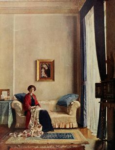 The Countess of Crawford and Balcarres by William Orpen.