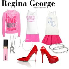 Regina George themed outfits