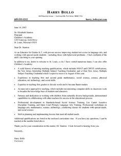 Recommendation Letter Sample For Teacher Aide - http://www ...