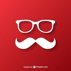 Hipster Christmas Background Free Vector