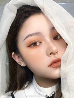 Makeup Korean Style, Korean Natural Makeup, Korean Eye Makeup, Asian Makeup, Natural Makeup Looks, Cute Makeup Looks, Pretty Makeup, Beauty Makeup, Hair Makeup