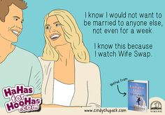 Cindy Chupack's New Book + HooHas eCards = Pure Magic Relationship Ecards, Relationships, Latest Books, New Books, Wife Swapping, Happy Marriage, Laughing So Hard, Book Review, Picture Quotes