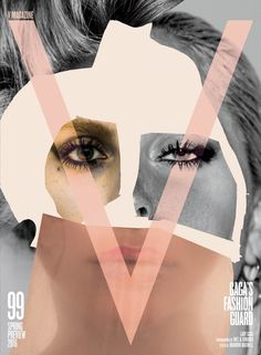 V Magazine 99 with Lady Gaga's Fashion Guard  Spring 2016