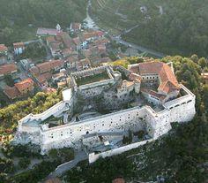 Castello Malaspina Massa dall'alto