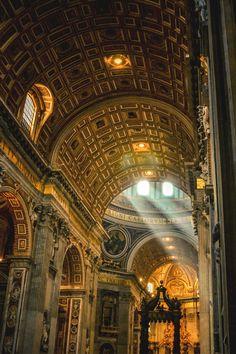 Celestial Light, St. Peters Basilica, Rome