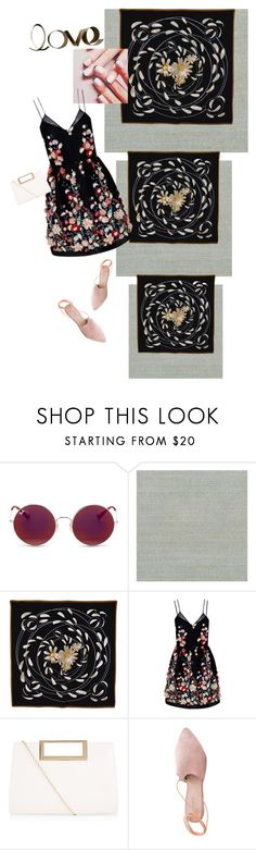 """Untitled #830"" by gabsi13 ❤ liked on Polyvore featuring Ray-Ban, Brewster Home Fashions, Hermès, Jin Soon, The 2nd Skin Co., New Look, Summit and PBteen"