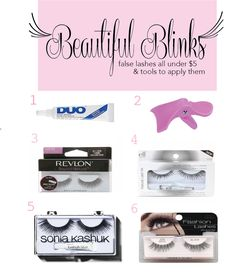 9817d20449e Top lashes under $5 @ kissablecomplexions.com Best Lashes, Fake Lashes,  Eyelashes,
