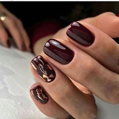 50 chic burgundy nail designs for winter 2019 # fashionlife # . - 50 chic burgundy nail designs for winter 2019 # fashionlife - Winter Nail Art, Winter Nail Designs, Autumn Nails, Nail Art Designs, Winter Nails 2019, Nails Design Autumn, Winter Art, Summer Nails, Perfect Nails