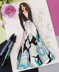 Fashion sketches 350295677267266955 - Fashion Design Sketches Illustrations Inspirational 37 Ideas For 2019 Source by lolopocahantas Dress Design Drawing, Dress Design Sketches, Fashion Design Sketchbook, Fashion Design Drawings, Dress Drawing, Fashion Sketches, Dress Designs, Fashion Drawing Dresses, Fashion Illustration Dresses