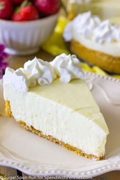 A creamy, tart, and very easy no-bake lemon cheesecake that can be assembled in a matter of minutes. Great for a potluck or party!