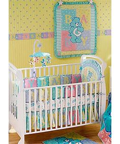 Carebear Crib Five Piece Set Ping S On Bedding Sets