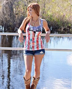 Sporty Girl Clothing Women's All American Girl Deer Skull Tank Top - Red/White/Blue http://www.countryoutfitter.com/products/73373-womens-all-american-girl-deer-skull-tank-top-red-w?lhs=u_p_p_n_a&lhb=MP&lhc=womens_apparel&lhg=sporty_girl_clothing_usa&utm_source=pinterest&utm_medium=social