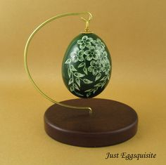 Pysanky Pisanki Ukrainian Polish Easter Egg by JustEggsquisite