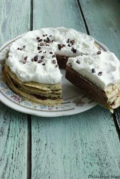 Delicious blog: Palačinkový dort