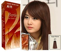 Permanent Hair Dye Copper Blonde Color Cream Berina No. A11 New in Box Free Gloves -- See this great product.