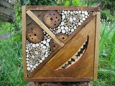 Gîtes à Insectes Auxiliaires - ToteMoo, Sculptures Vivantes