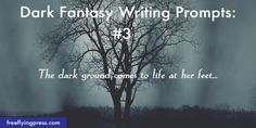 15 dark fantasy writing prompts