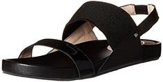 Sudini Women's Hailey dress Sandal, Black, 8 M US -- Details can be found by clicking on the image.