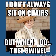 Swivel chair scene!!!