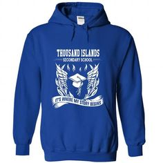 Thousand Islands Secondary School  - Its where my story - #floral shirt #oversized sweatshirt. BUY-TODAY => https://www.sunfrog.com/No-Category/Thousand-Islands-Secondary-School--Its-where-my-story-begins-4269-RoyalBlue-Hoodie.html?68278